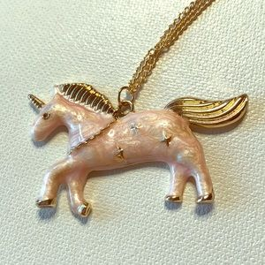 Boutique Jewelry - 5 for $25! Pink Unicorn Necklace